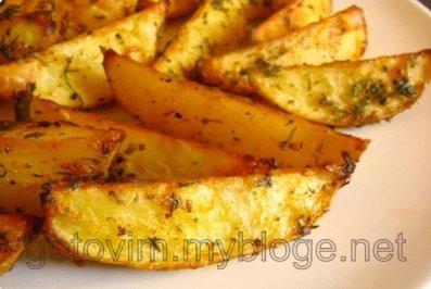 рецепт картошки по селянски