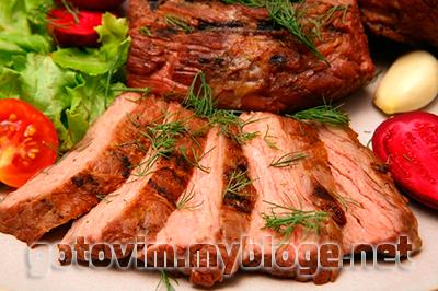 свинина запеченная куском в духовке рецепт с фото