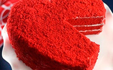 Сколько стоит торт красный бархат