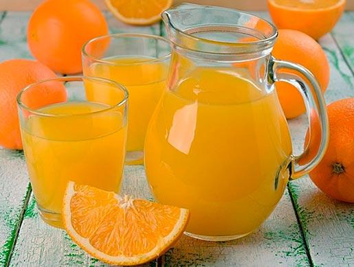 Домашний напиток из апельсинов