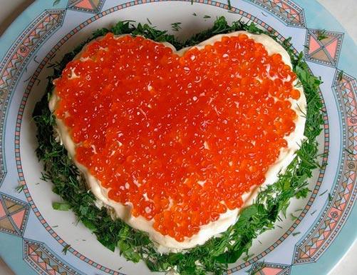 салат сердце ангела рецепт с фото